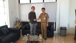Founder Punya Harapan & Kepala Dinas Perpustakaan Provinsi Sulut